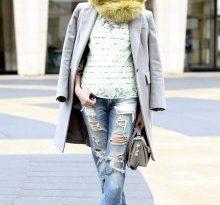 Варианты детских рваных джинсов, цветовая гамма моделей